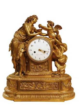 Jean-Antoine Lepine, Mantle Clock, Beginning 19th century