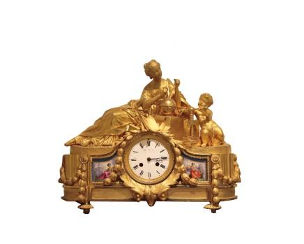 Phillipe Mourey, Mantel clock, Late 19th century