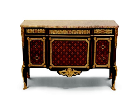 François Linke, Transition style,Commode, end of 19th century/beginning of 20th century