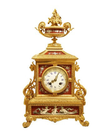 Miroy Frères & Fils, Mantle Clock, end of 19th century