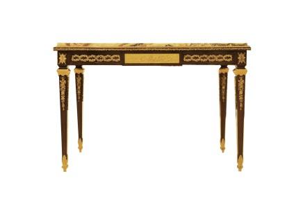 François Linke, Louis XVI style center table, late 19th century