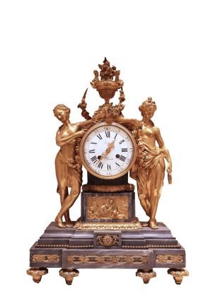 Leroy et Fils, Mantle clock, Late 19th century