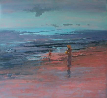 Tina Morgan SWA, Orange Beach Ball