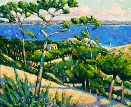Terence Clarke, Looking Towards the Bay of Napoule