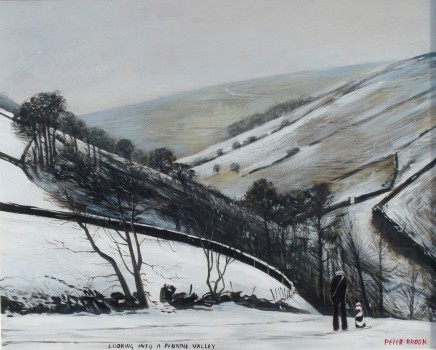 Peter Brook RBA, Looking into a Pennine Valley