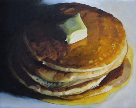 Andrew B Holmes, Untitled (pancakes, stacked)