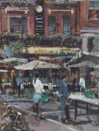 Robert E Wells RBA, Flower Market