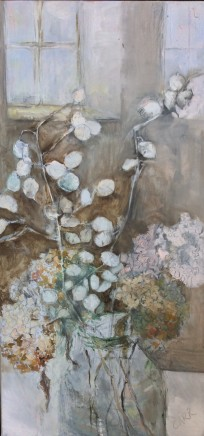 Dorothea Carr, Autumn Hydrangea and Honesty