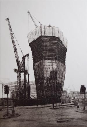 Melanie Bellis, One Blackfriars Construction