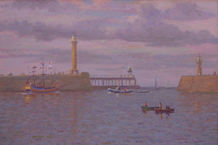 Douglas Hill, Entrance to the Harbour, Whitby