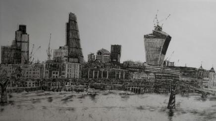 Melanie Bellis, London Skyline