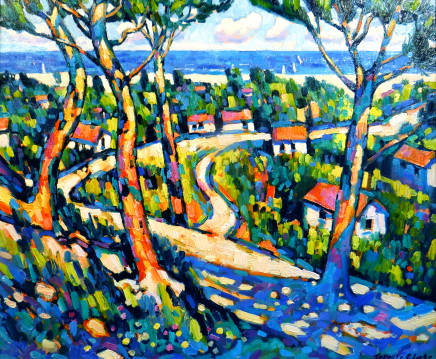 Terence Clarke, Sea and Pines, Charante Maritime