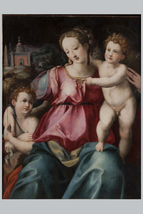 Michele di Ridolfo del Ghirlandaio, Holy Mary and Child, Early 16th Century