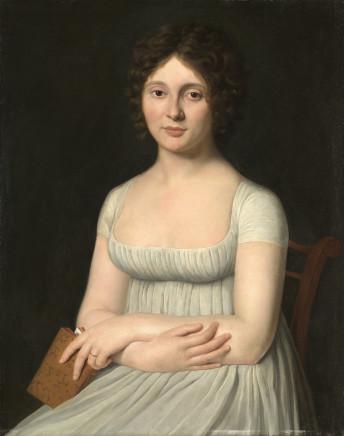 Frédéric Dubois, Portrait of two noblewomen of the Guerinais Family, 1795 circa