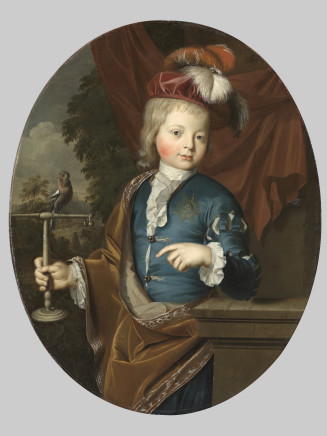 Arent Vygh, Portrait of Frederick Louis Prince of Wales, 1711