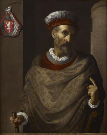 Pietro Martire Neri, Celebrative Portrait of Roberto di Castiglione, 1630 circa