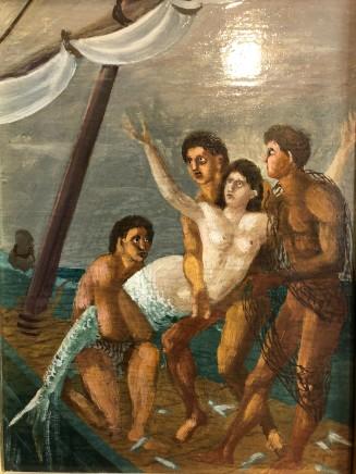 Corrado Cagli, Mermaid, 1963