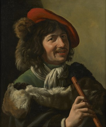 Theodoor Rombouts, Farmer with flute