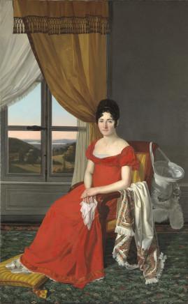 Pietro Nocchi, Portrait of a Lady from Lucca (Maria Domenico Paglicci?), 1823-1825