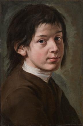 Giacomo Ceruti, Portrait of a Young Man, 1735-40