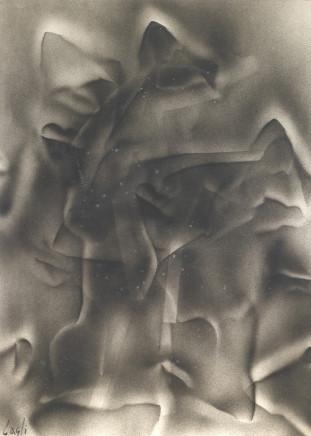 Corrado Cagli, Obsession, 1950
