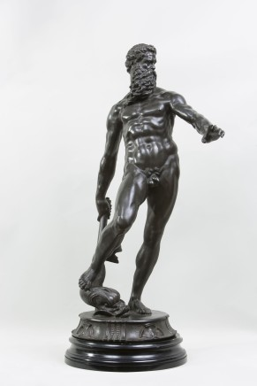 After Giambologna, Bronze Figure of Neptune, 18th - 19th Century