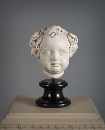Marble Head of a Boy, Late 17th Century