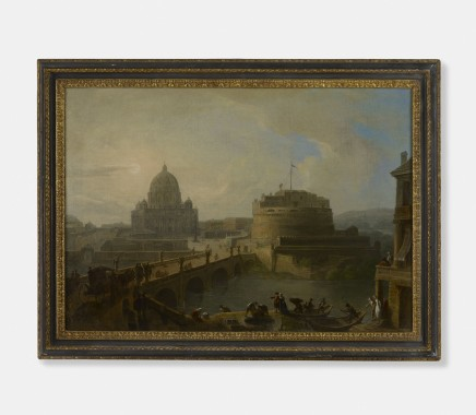 Probably French artist in Rome, View of Rome, Late 18th Century