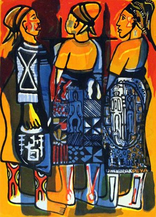 Bruce Onobrakpeya, Have you heard? II: A Revisit of the Sunshine Period (1960 - 70)