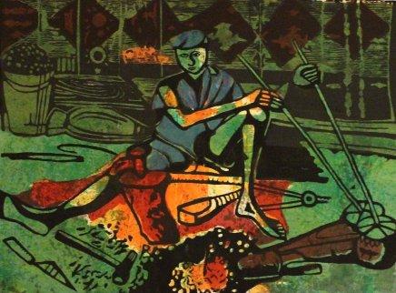 Bruce Onobrakpeya, Blacksmith: A Revisit of the Sunshine Period (1960 - 70)