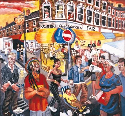 Ed Gray, Electric Avenue, Brixton, 2005
