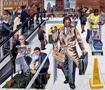 Ed Gray, Liverpool Street Station 2, 2007