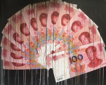 Sheng Qi, Red Fan, 2013