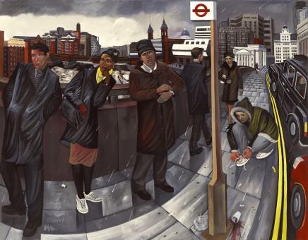 Ed Gray, London Bridge 2, 2005
