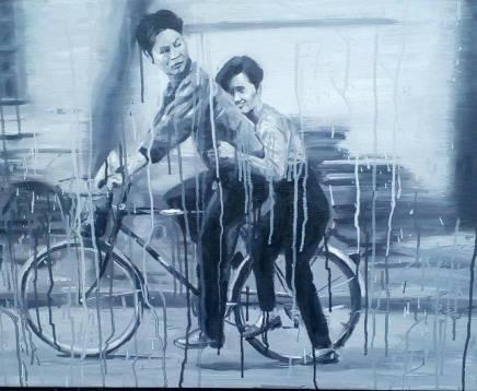 Sheng Qi, Lover in Grey, 2007