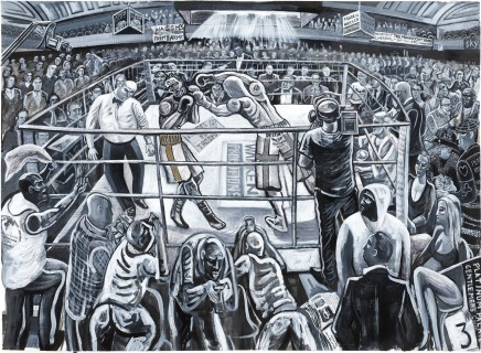 Ed Gray, York Hall, Boxers, Bethnal Green, 2011-12