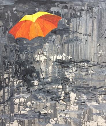 Sheng Qi, Yellow Umbrella, 2014