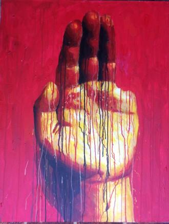 Sheng Qi, My Left Hand, 2010