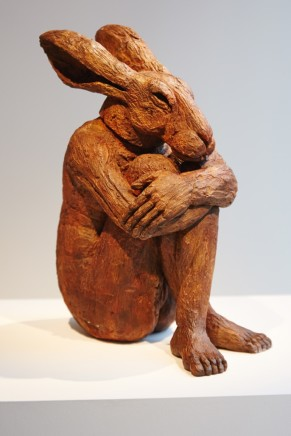 Sophie Ryder, Girl with Knees Up