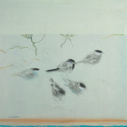 Janet Melrose RSW, Talking to Sparrows