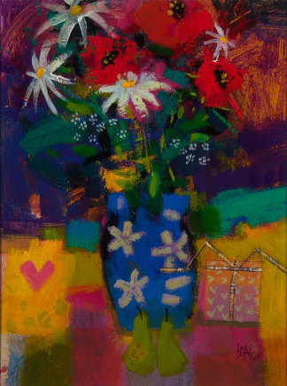 Francis Boag, Poppies and Pears