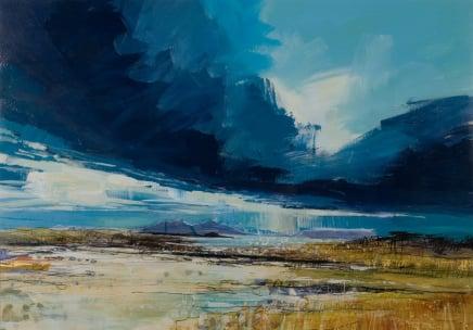 Sarah Carrington, Dark Clouds, Portuairk, Ardnamurchan
