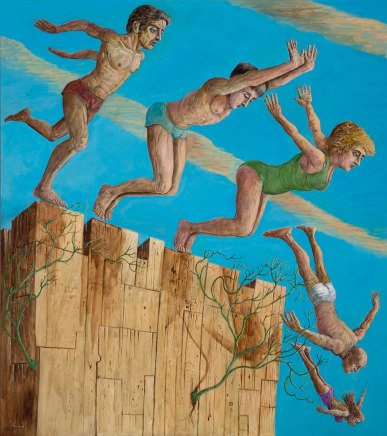 John Johnstone, Diving from the Rock
