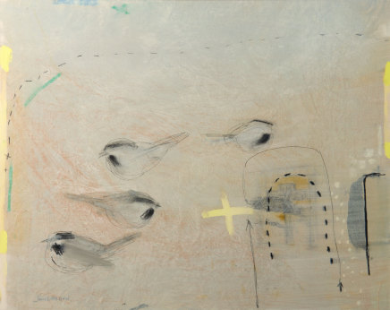Janet Melrose RSW, Monestery Birds