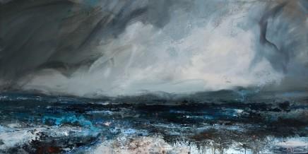 Janette Kerr, Low Tide - Dark Day, 2016