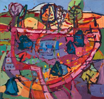 Catherine Imhof-Cardinal, Garden Path