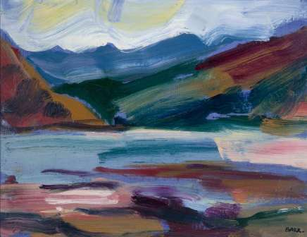 Shona Barr, Loch Long (study)