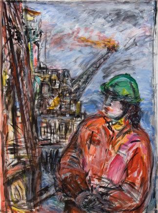 Fionna Carlisle, Self-portrait on Alwyn North, 2005
