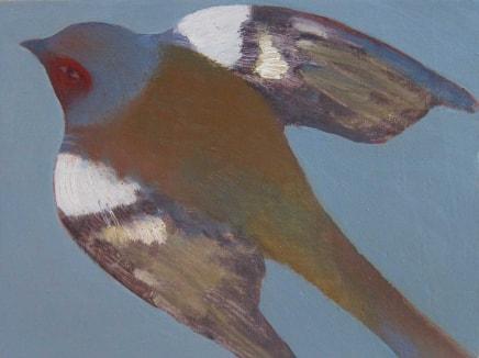 Jane MacNeill, Flying Chaffinch, 2015