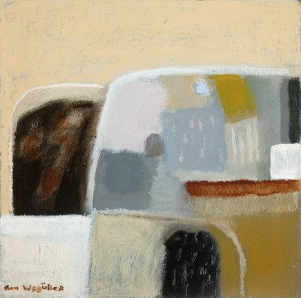 Ann Wegmuller RSW, Hill Fields, Winter 1